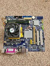 AMD Athlon 64 X2 5200+ 2.7GHz CPU  Motherboard Bundle + 2GB Ram. AM2+ I/O Sheild