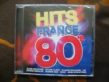 CD COMPILATION HITS FRANCE 80'S / Warner Music  (2017)  NEUF SOUS BLISTER
