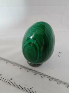 Malachite Crystal Polished Sphere/Egg 60mm 177g. Semi-precious Gemstone.