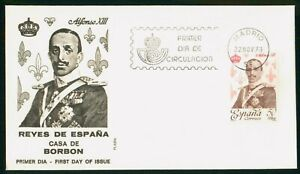 Mayfairstamps Spain FDC 1978 Alfonso XIII First Day Cover wwo_51879