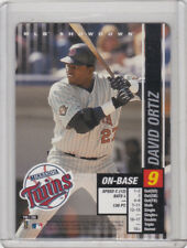 "2002 MLB Showdown Trading Deadline ""DAVID ORTIZ"" #196 (TWINS)"