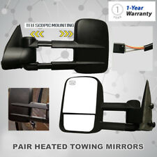 Power Rearview Towing Heated Mirror Fits 99-02 Chevy Silverado/GMC Sierra