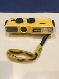 Vintage Minolta Weathermatic A 110 Film Underwater Camera