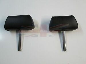 New Pair of Complete Head Rests Headrests MGB MG Midget 1970-80 Made in UK Black