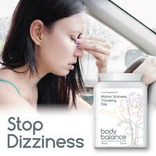 BODY BALANCE MOTION SICKNESS TRAVELING PILL STOP DIZZINESS SWEATING SICKNESS