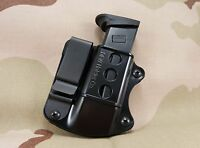 Double Stack Tuckable IWB Magazine Holster, Holder,  Mag Pouch: Fits 9mm, 40, 45