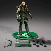New Green Arrow Action Figure Mezco One:12 DC Comics High Quality Toy With Box