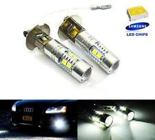 2x SAMSUNG 10 SMD LED H3 453 for AUDI Projector Fog Driving Light White Bulb