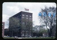 1950s red border Kodachrome Photo slide Evangeline Hotel Cars Minneapolis MN