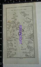 1778 Taylor & Skinner Strip Map Ireland -Dublin-Clones, Carrickmacross-Shircock