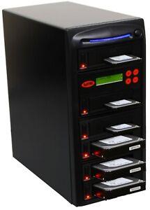 "SySTOR 1-5 SATA 2.5""&3.5"" Dual Port/Hot Swap Hard Drive HDD/SSD Duplicator/Wipe"