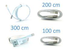 3 x iPhone Lightning Kabel (1m, 2m, 3m)
