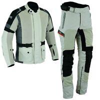 Motorrad Textil Kombi Für Herren Motorrad Jacke und Hose Motorradkombi Gr M-5XL