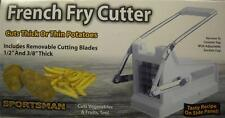 Sportsman French Fry Cutter Cuts Thick / Thin Potatoes Cut Vegetable Fruits,Too!