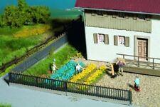 NOCH 07138 Blumenbeete gelb-blau 18 Streifen,18 Büschel                   #55614