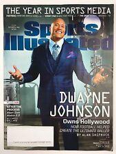 Sports Illustrated Magazine 12/5/2016 Dwayne Johnson The Year in Sports Media