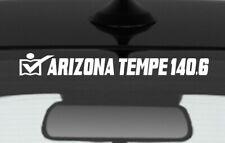 2019 Or Any year Ironman Arizona Triathlon Finisher Decal