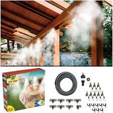 Kit nebulizzatore ad acqua nebulizzazione gazebo ombrellone giardino 15 mt nuovo