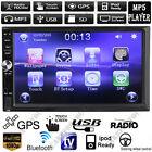 Radio FM GPS Nav voiture Autoradio 2DIN lecteur MP3 MP5 stéréo tactile Bluetooth