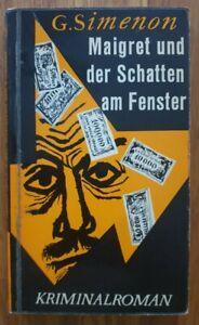 KiWi Krimi Klassiker  Georges Simenon  Maigret und der Schatten am Fenster.
