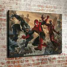 "12""x18""Carnage Spiderman venom HD Photo Canvas prints Painting Home decor art"