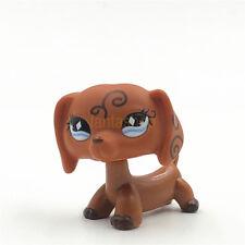 LPS Littlest Pet Shop Spielzeugtier #640 Wirbel Tattoo Dackel Hund Diamant Auge