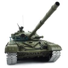 Henglong 1/16 6.0 T72 RC Tank 3939 360° Turret Metal Tracks Linkages Red Eye
