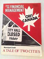 Credit Card And Financial Management Magazine Municipal March 1973 022617NONRH