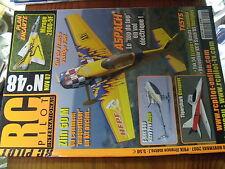 µ?b  Revue RC Pilot n°48 plan encarté Mirage 20000-5F/ Zlin 50M Yak 54
