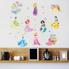 Snow White Seven Princess Wall Vinyl Sticker Decal Kids Nursery Room Decor Art