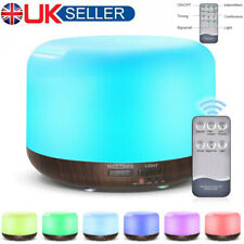 Ultrasonic Fresh Air Purifier Ioniser Humidifier Diffuser Aroma Light Changing