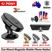 360° Rotate Magnetic Ball Car Mount Phone Holder iPhone Galaxy Huawei Xiaomi GPS