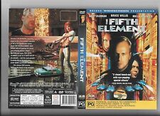 2 x Bruce Willis DVDs, The Fifth Element deluxe widescreen, 12 Monkeys