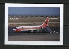 P951  Angola 1999   transport aviation Boeing 737 jet   sheet   MNH