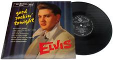 "ELVIS - GOOD ROCKIN' TONIGHT - BLACK VINYL 10"" - LTD ED. JAPANESE RE-ISSUE"