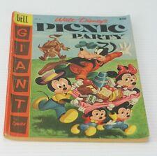 Giant Walt Disney Picnic Party Dell Comic Book #8 1957