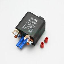 12V 200A 4 Pin Batterie Trennrelais Schwerlast Starter Relais PKW, BOOT, CAMPING