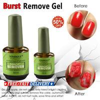 Magic Nail Gel Remover Soak Off Base Matte Top Coat Gel Polish Nail Art Primer J