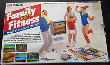Bandai Family Fun Fitness Pad w/ Athletic World NES,Nintendo,Power Pad, RARE