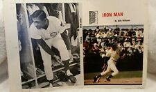 Chicago Cubs BILLY WILLIAMS - IRON MAN Baseball Print Poster