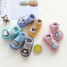 Infant Baby Cartoon Animal Baby Girls Boys Anti-Slip Socks Slipper Shoes Boots