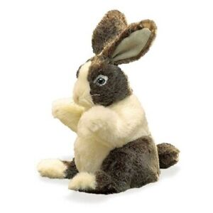 Folkmanis Dutch Rabbit Baby Hand Puppet