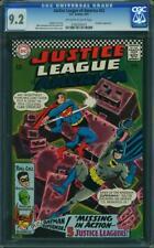 Justice League of America #52 CGC 9.2 -- 1967 -- Hawkgirl Batman #0162056016