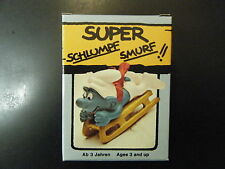 4.0201 SUPER SMURF – SLED - NEW IN GERMAN BOX
