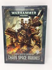 Codex Chaos Space Marines Update 8th Edition Warhammer 40K Sealed Free Shipping