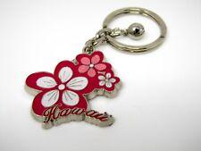 Vintage Collectible Keychain: Hawaii Flower Design