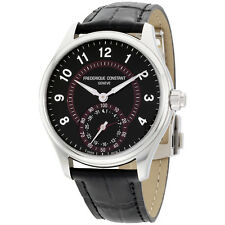 Frederique Constant Runabout Round Leather Strap Men's Watch FC285BBR5B6