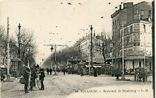 CARTE POSTALE // TOULOUSE BOULEVARD DE STRASBOURG