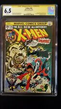 X-MEN #94 CGC 6.5 SS SIGNED STAN LEE NEW X-MEN BEGINS MARVEL WHITE PAGES