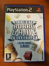ULTIMATE BOARD GAME COLLECTION - PLAYSTATION 2 PS2 USATO